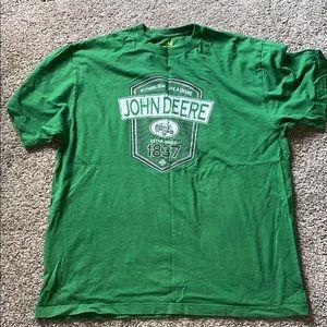 Nothing runs like a Deere shirt